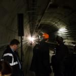 Blitze im Tunnel
